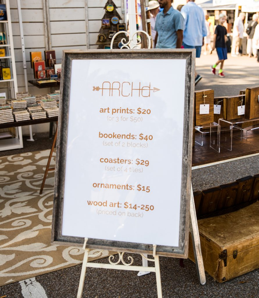 9 Creative Ways To Display Your Pricing At Craft Fairs Handmade Seller Magazine